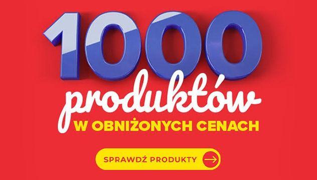 1000 produktów w obniżonych cenach