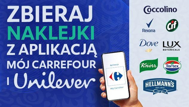 Akcja naklejkowa Produkty Unilever