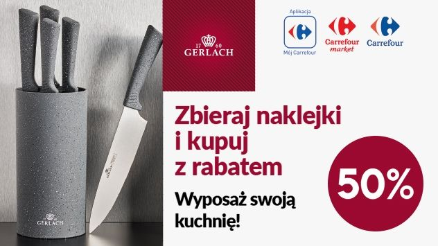 Gerlach- Zbieraj naklejki i kupuj z rabatem 50%