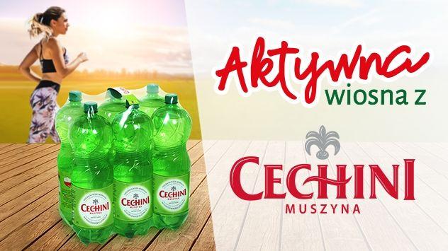 Konkurs - Aktywna wiosna z Cechini Muszyna & Carrefour