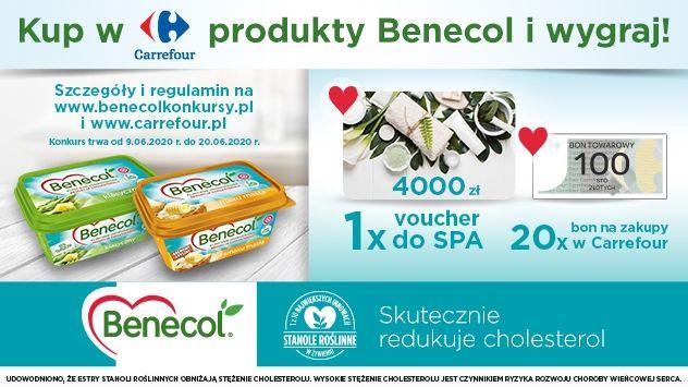 Konkurs - Benecol- dbam o zdrowie