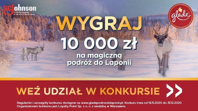 Konkurs - Glade Podróż do Laponii