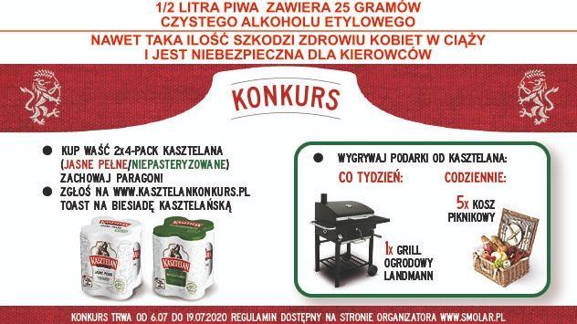 Konkurs - Kasztelański toast!