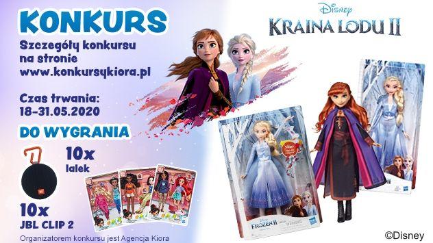 Konkurs - Świat lalek Krainy Lodu od Hasbro w Carrefour