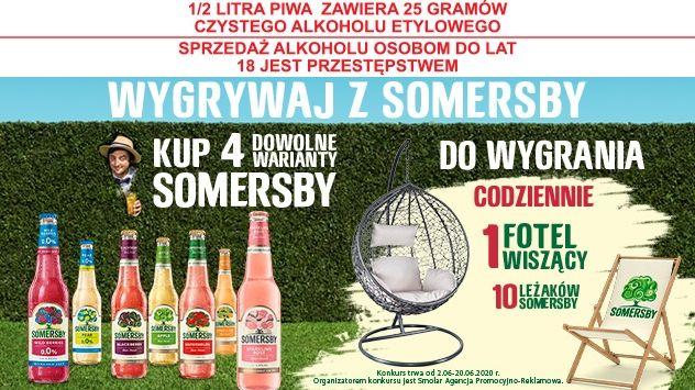 Konkurs - Wygrywaj z Somersby