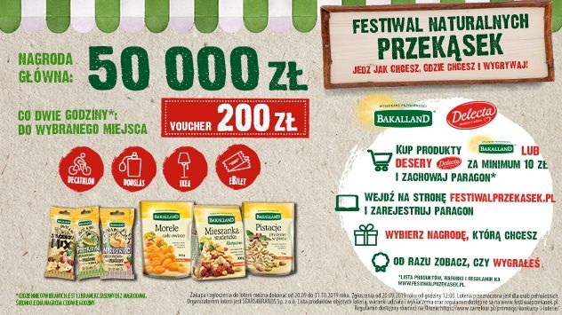 Konkurs Bakalland - Festiwal naturalnych przekąsek