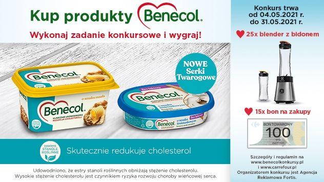 Konkurs Benecol - Jeden prosty krok do redukcji cholesterolu