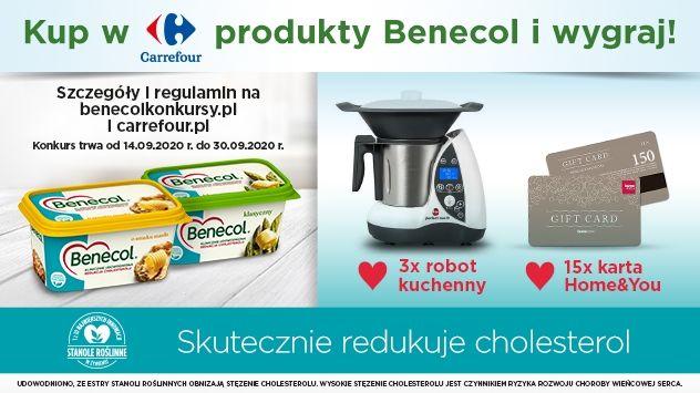 Konkurs Benecol Jeden prosty krok do redukcji cholesterolu