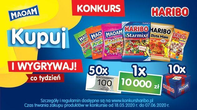 konkurs Haribo - Kupuj i Wygrywaj