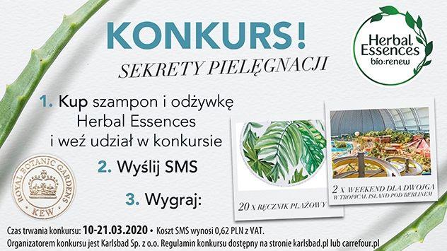 Konkurs Herbal Essences - Sekrety pielęgnacji