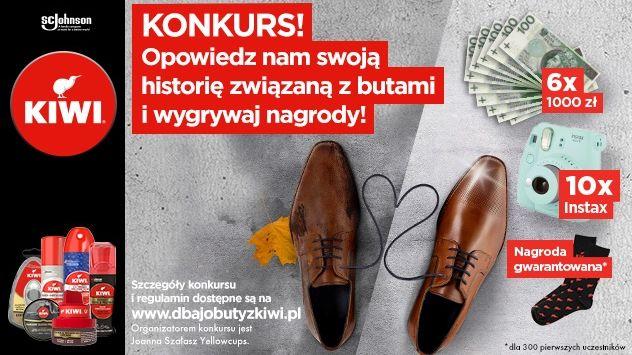 Konkurs Kiwi Długotrwała ochrona butów, które kochasz