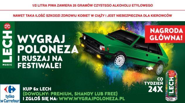 Konkurs Lech - Wygraj poloneza i ruszaj na festiwale