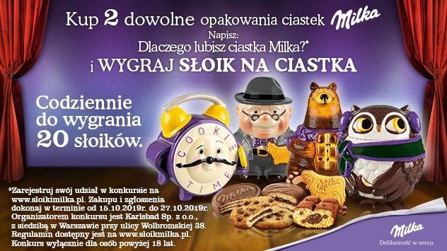 Konkurs Milka - Wygraj słoik Milka w Carrefour