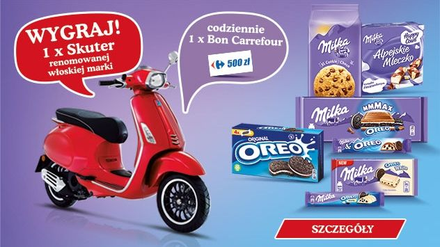 Konkurs Milka i Oreo w Carrefour