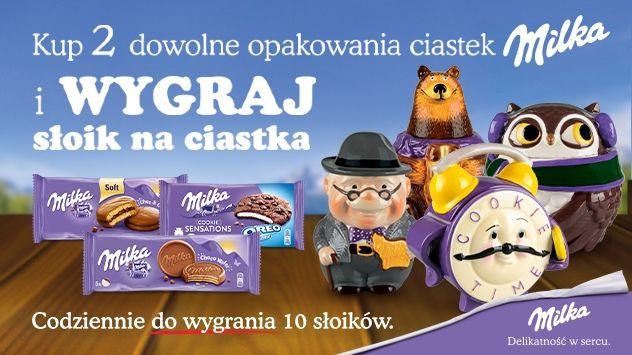 Konkurs Milka Wygraj Słoik w Carrefour