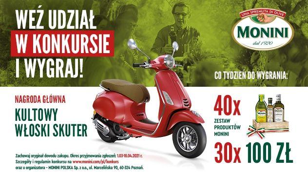 Konkurs Monini Dostawa włoskiego smaku