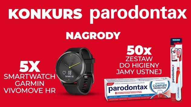 Konkurs Parodontax w Carrefour