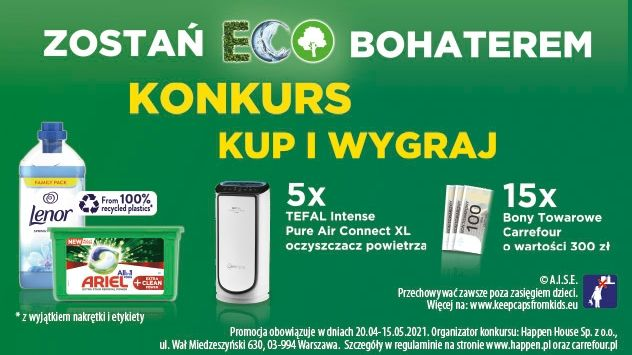 Konkurs Procter and Gamble - Zostań ECO Bohaterem