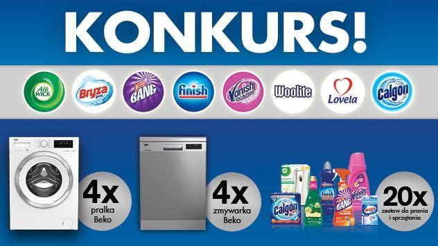 Konkurs Reckitt Benckiser - Pomagamy w praniu i sprzątaniu