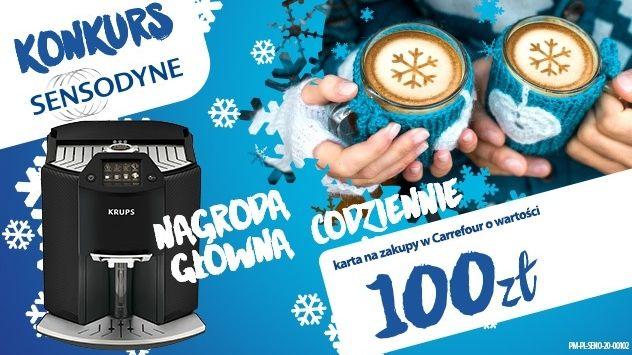 Konkurs Sensodyne w Carrefour