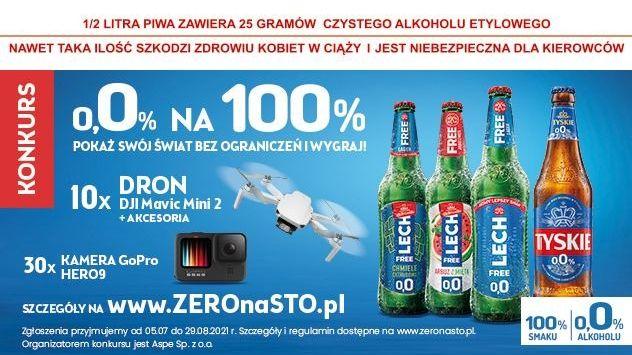 Konkurs Zero procent na sto procent