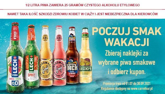 Kupuj piwa i zbieraj naklejki w aplikacji Mój Carrefour