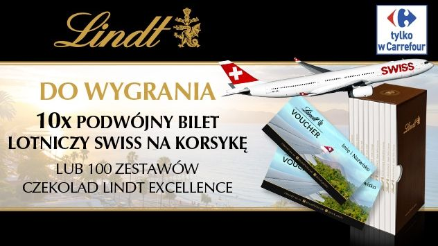 Lindt Excellence- Wycieczka do Europy