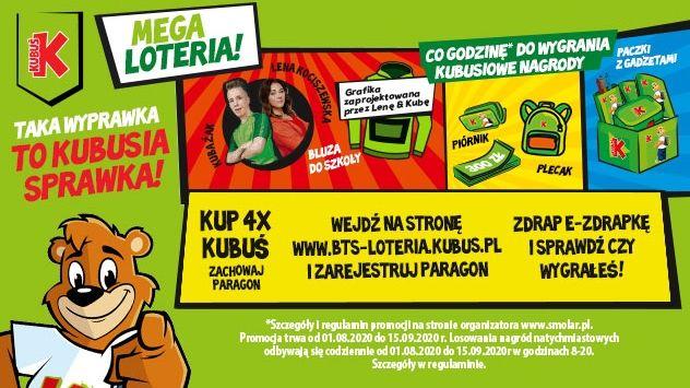 Loteria - Taka wyprawka to Kubusia sprawka