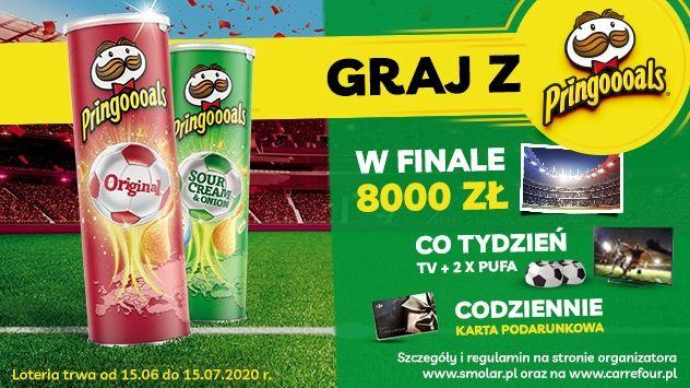 Loteria - Zaproś Pringles na mecz