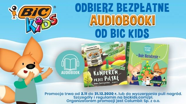 Loteria Audiobooki od BIC KIDS