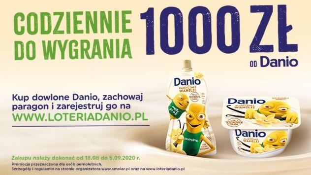 Loteria Danio w sieci Carrefour 2020