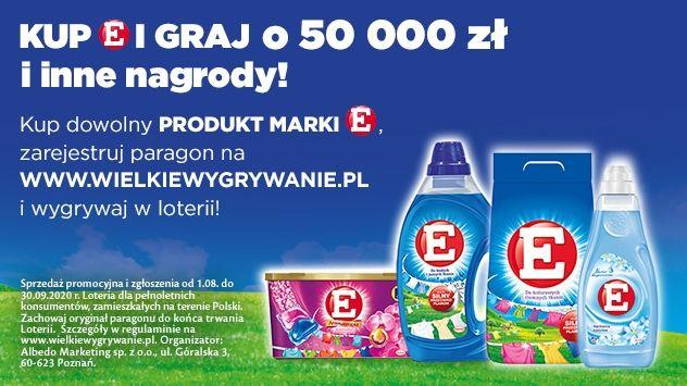 Loteria E -Wielkie pranie, Wielkie wygrywanie
