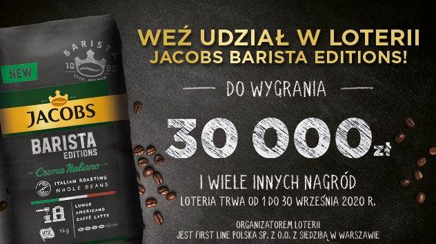Loteria Jacobs Kawa jak z kawiarni w Twoim domu