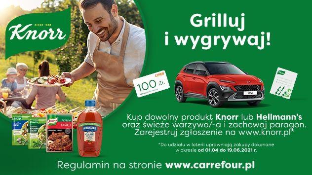 Loteria Knorr Grilluj i wygrywaj!