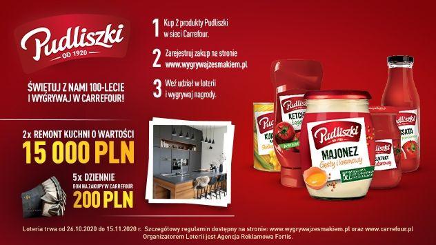 Loteria Pudliszki - Wygrywaj ze smakiem