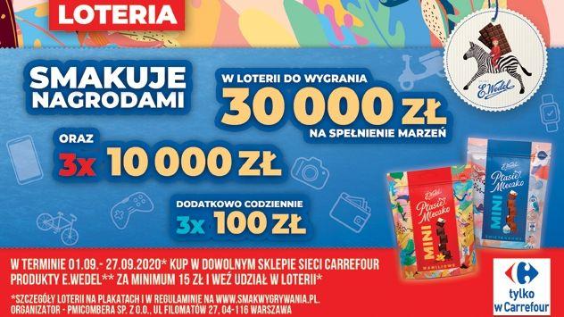 Loteria smakuje nagrodami