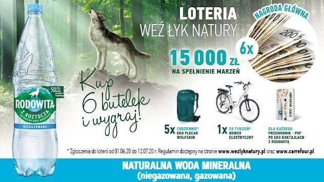 Loteria Weź łyk natury