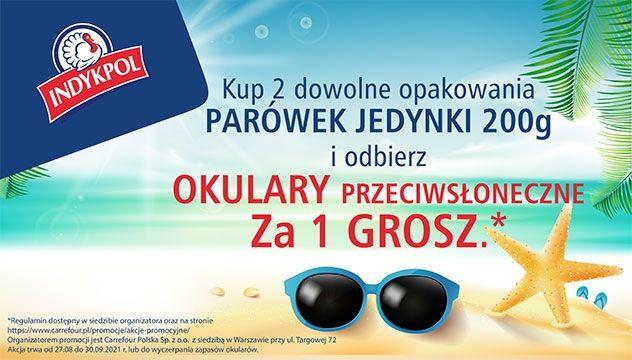Odbierz okulary przeciwsłoneczne za 1 grosz