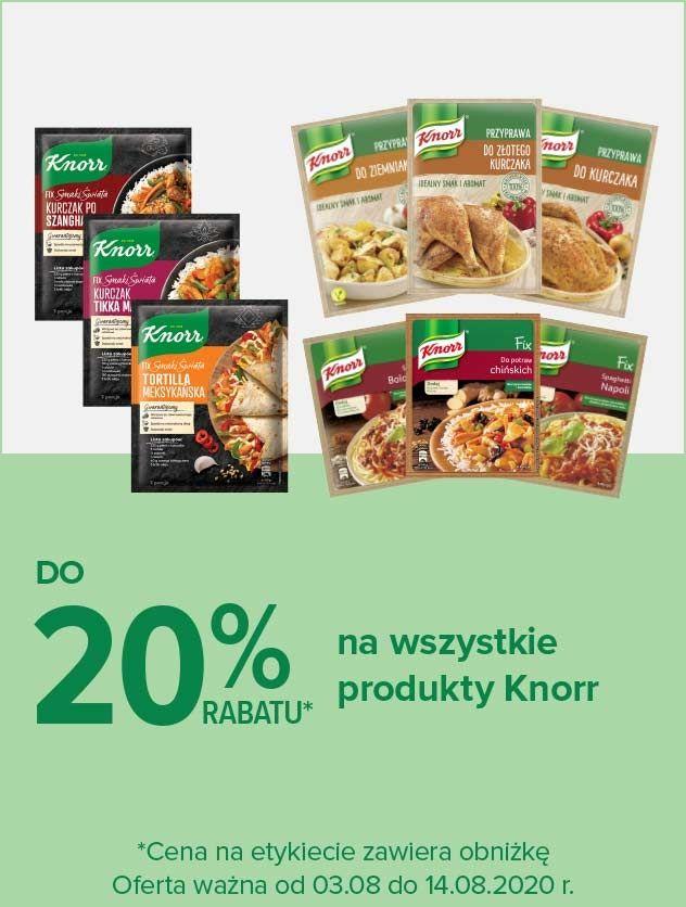 Knorr do 20% rabatu