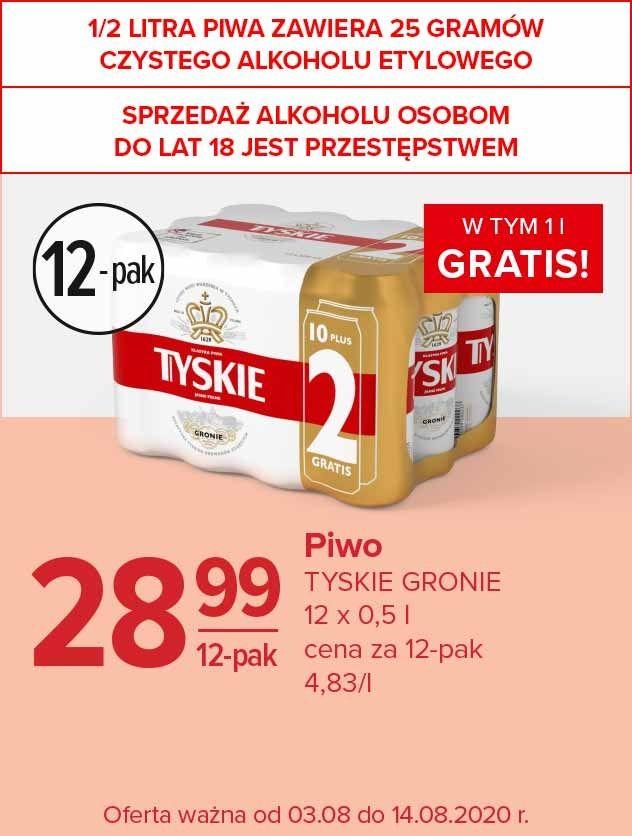 Piwo Tyskie 12-pak