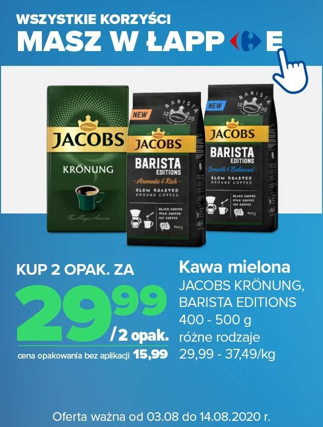 Kawa Jacob Kronung 2 opak. za 29,99 zł