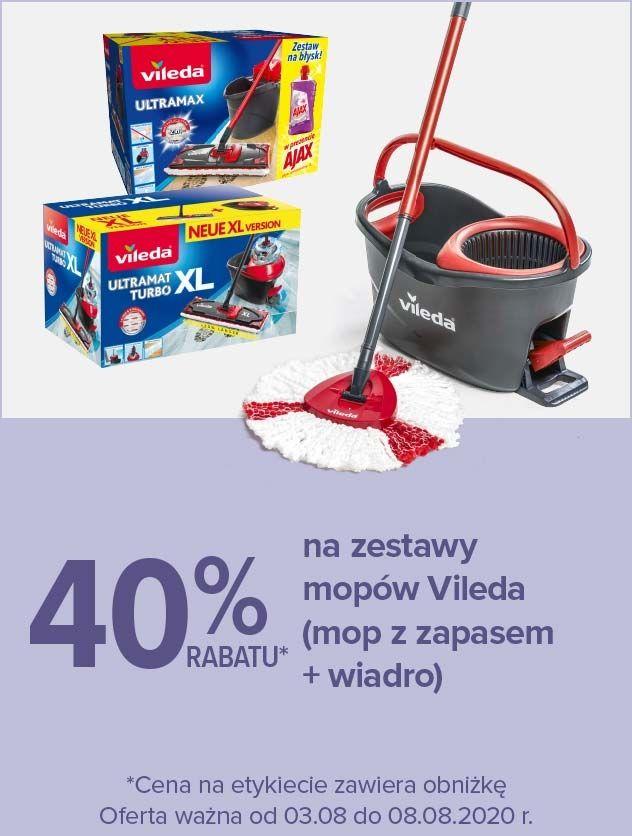 40% na zestaw mopów Vileda