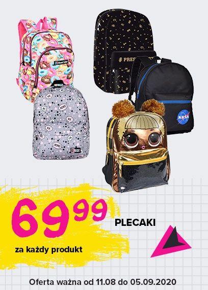 Plecaki 69,99 zł