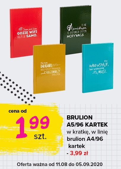 Brulion A5