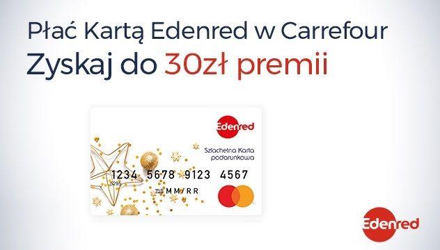 Płać Kartą Edenred w Carrefour