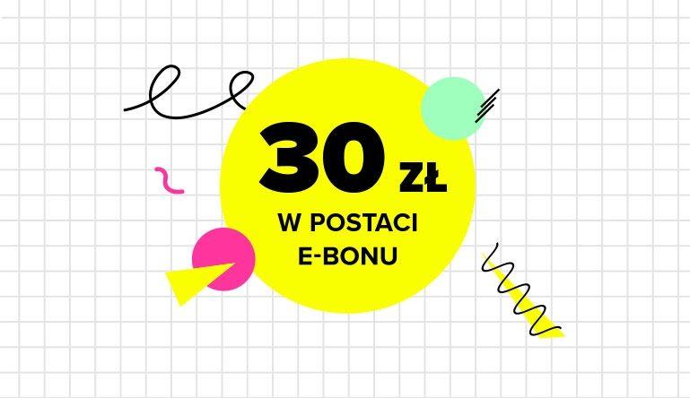 e-bon o wartości 30 zł za zakupy