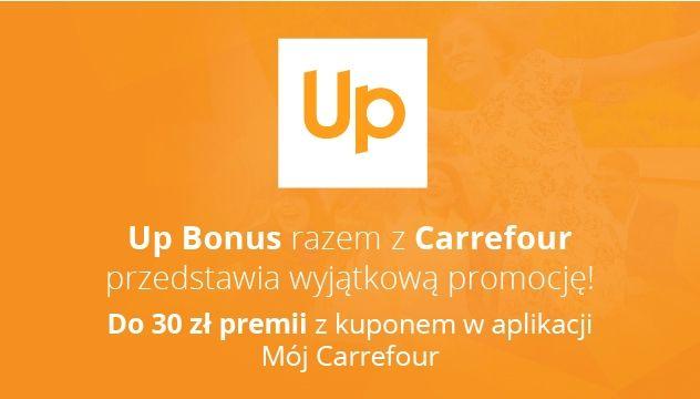 Up Bonus razem z Carrefour