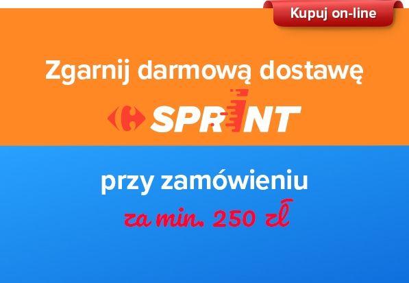 Darmowa dostawa dla Sprint od 250 zł