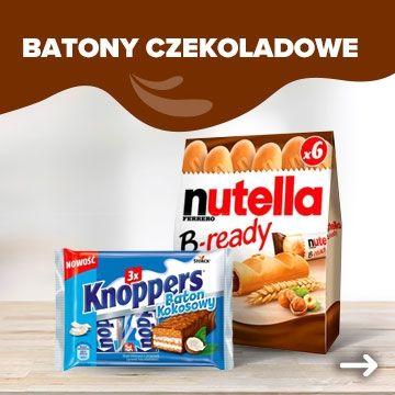 Batony czekoladowe - Powrót do szkoły