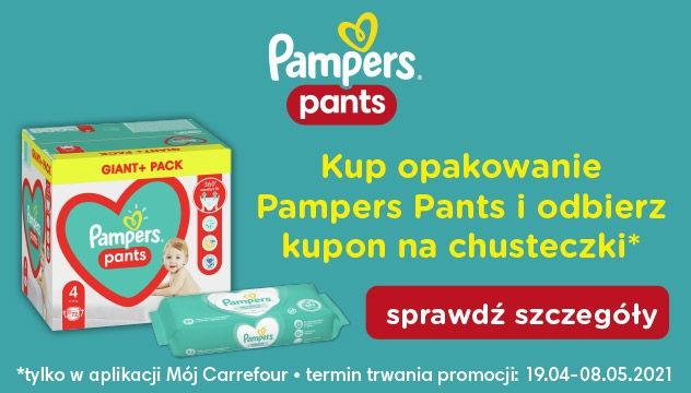 Produkty Pampers